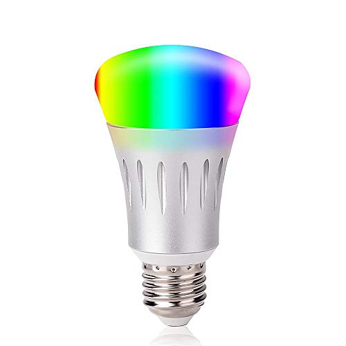 smart led light bulb night light bulbs 16 million multi color dimmable work with alexa wi fi. Black Bedroom Furniture Sets. Home Design Ideas