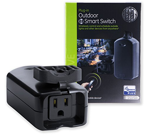 Outdoor Z-Wave Plug w/Built-in Z-Wave Repeater | Combines a Z-Wave